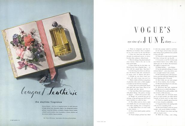 Vogue's Eye View of a June Diary...