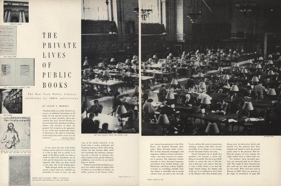 The Private Lives of Public Books
