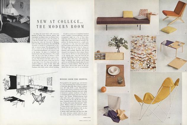 New at College–The Modern Room