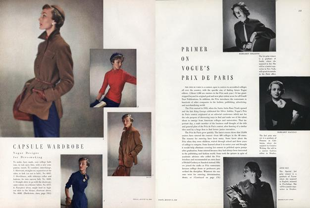 Primer on Vogue's Prix de Paris
