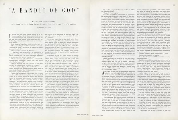 """A Bandit of God"""