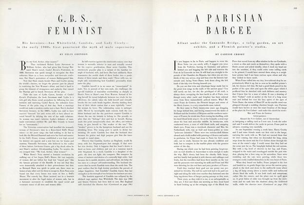 G.B.S., Feminist