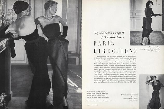 Vogue's Second Report of the Collections; Paris Directions
