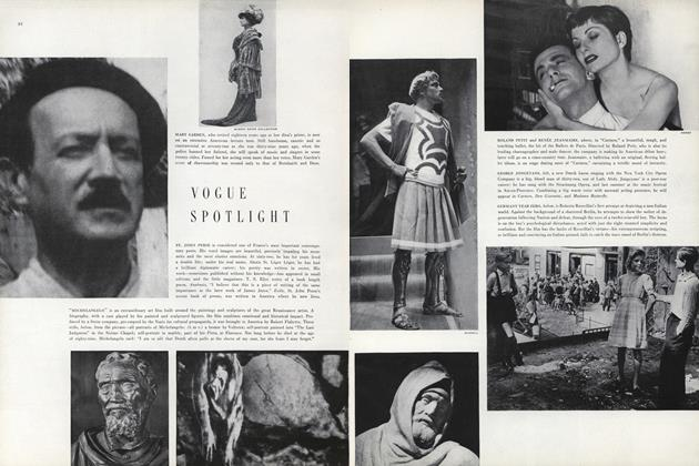 Article Preview: Vogue Spotlight, October 15 1949 | Vogue