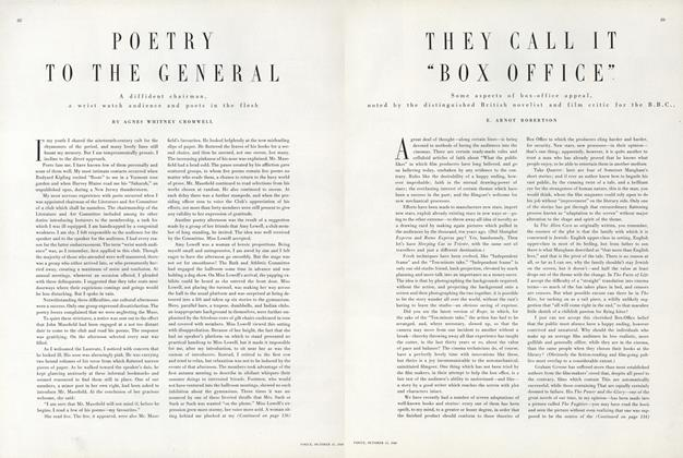 Article Preview: Poetry to the General, October 15 1949 | Vogue