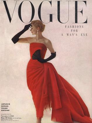 Cover for the November 1 1949 issue