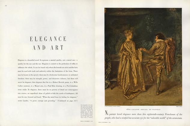 Elegance and Art