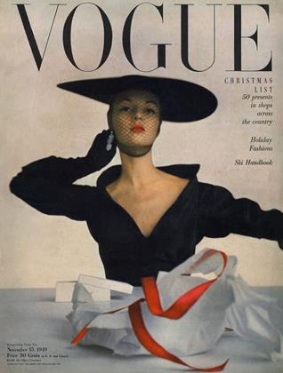 Cover for the November 15 1949 issue
