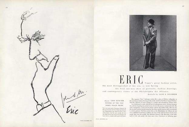 Article Preview: Eric, December 1949 | Vogue