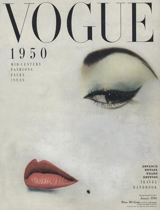 Cover for the January 1950 issue