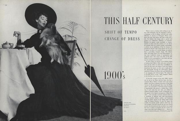 Article Preview: This Half Century, Shift of Tempo, Change of Dress: 1900's, January 1950 | Vogue