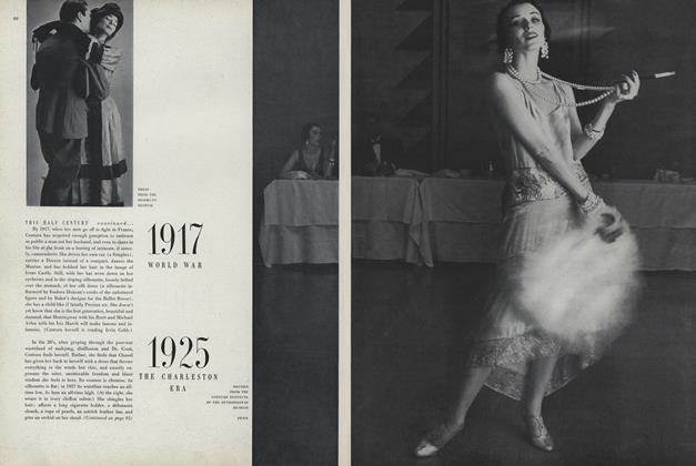 Article Preview: This Half Century, Shift of Tempo, Change of Dress: 1925, the Charleston Era, January 1950 | Vogue