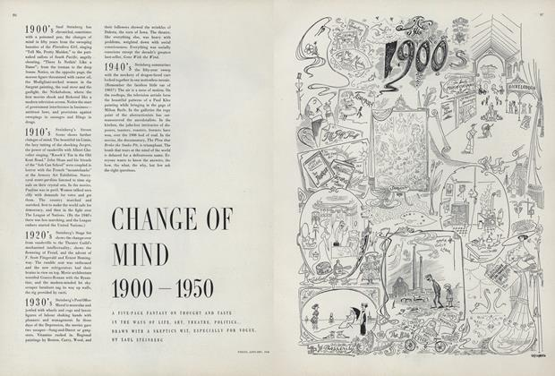Change of Mind, 1900-1950