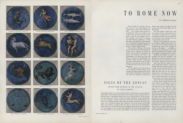Article Preview: To Rome Now, January 1950 | Vogue