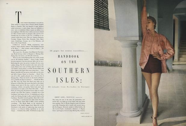 Article Preview: Handbook on the Southern Isles, January 1950 | Vogue