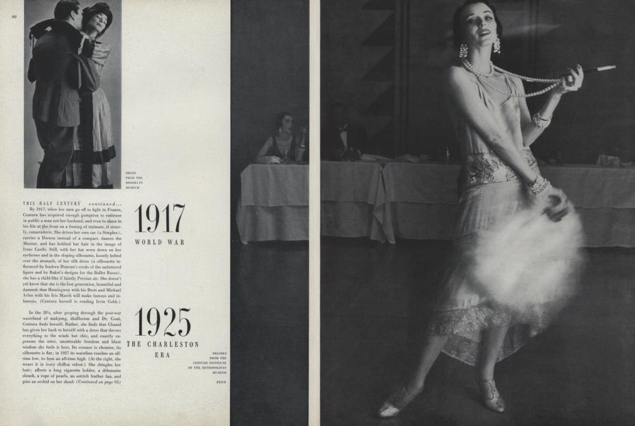 This Half Century, Shift of Tempo, Change of Dress: 1925, the Charleston Era