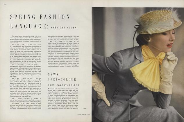 Spring Fashion Language: American Accent