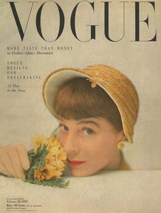 Cover for the February 15 1950 issue