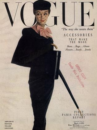 Cover for the March 1 1950 issue