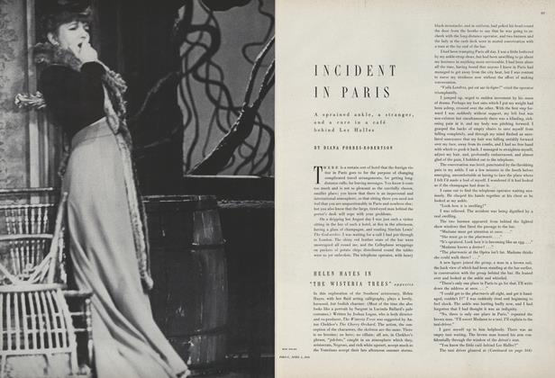 Article Preview: Incident In Paris, April 1 1950 | Vogue