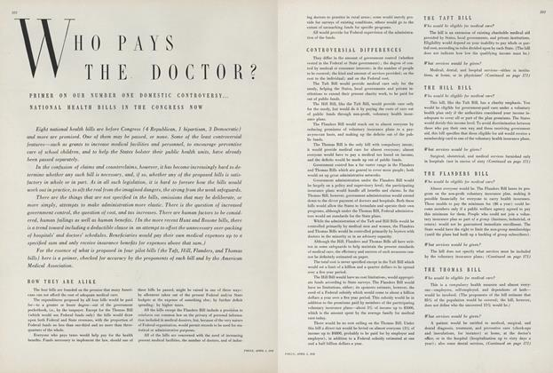 Article Preview: Who Pays the Doctor?, April 1 1950 | Vogue