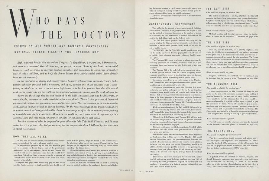 Who Pays the Doctor?