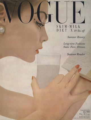 Cover for the July 1950 issue