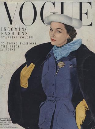 Cover for the August 1 1950 issue