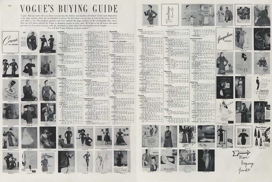 VOGUE'S BUYING GUIDE