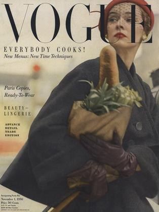 Cover for the November 1 1950 issue