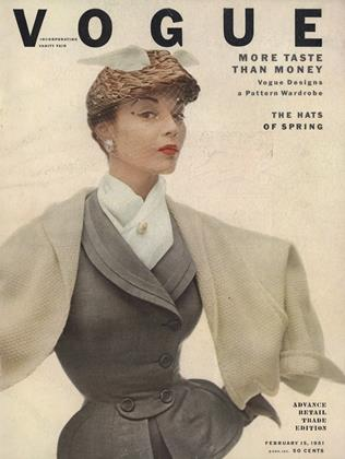 Cover for the February 15 1951 issue