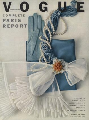 Cover for the March 15 1951 issue
