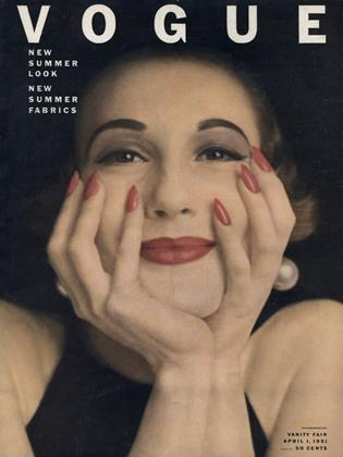 Cover for the April 1 1951 issue