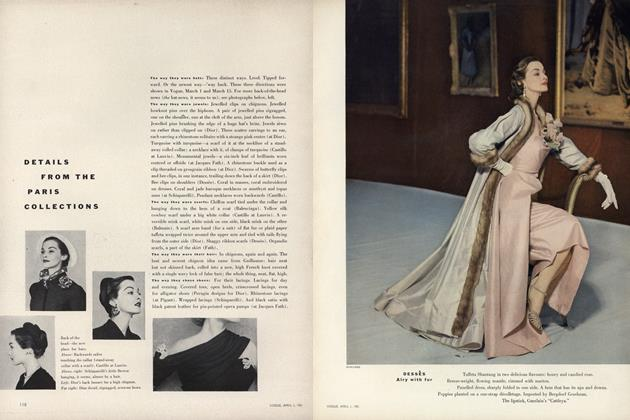 Article Preview: Details from the Paris Collections, April 1 1951 | Vogue