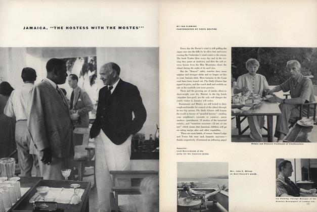"Article Preview: Jamaica, ""The Hostess with the Mostes"", April 1 1951 