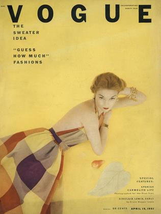 Cover for the April 15 1951 issue