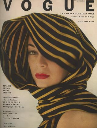 Cover for the July 1951 issue