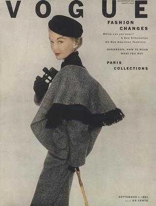 Cover for the September 1 1951 issue