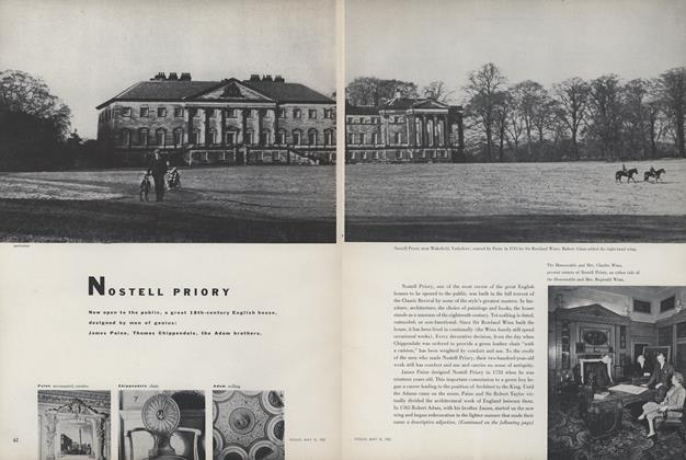 Article Preview: Nostell Priory, May 15 1952 | Vogue