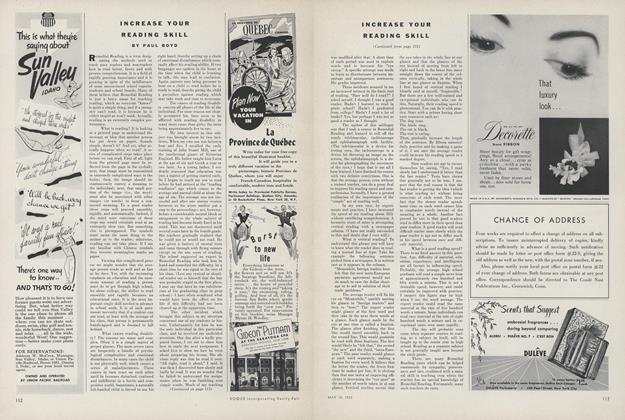 Article Preview: Increase Your Reading Skill, May 15 1952 | Vogue
