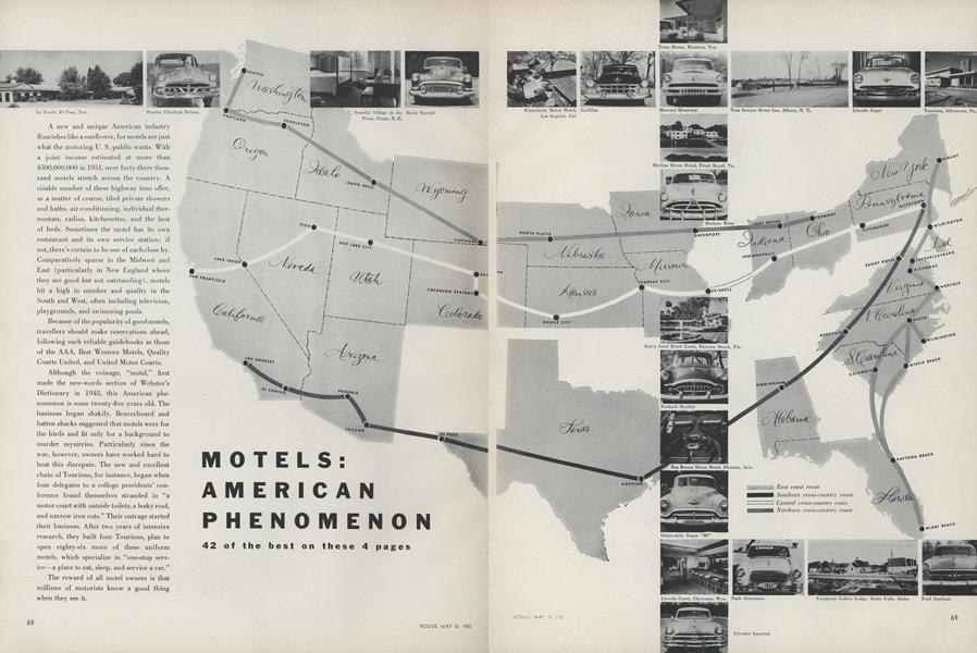 Motels: American Phenomenon