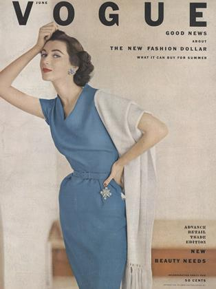 Cover for the June 1952 issue