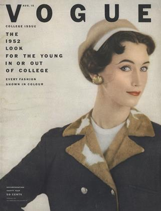 Cover for the August 15 1952 issue