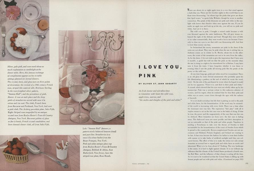 I Love You, Pink
