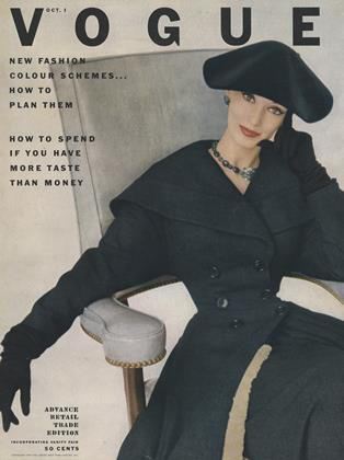Cover for the October 1 1952 issue