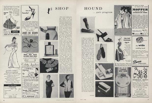Shop Hound...Quiz Program