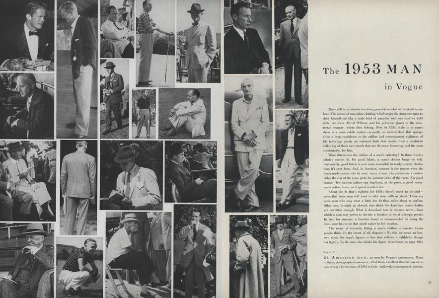 The 1953 Man in Vogue