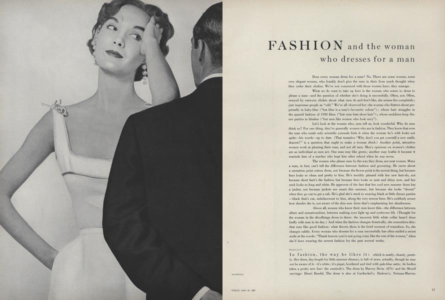 Fashion and the Woman Who Dresses for a Man