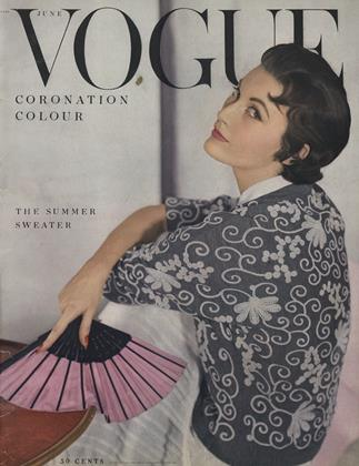 Cover for the June 1953 issue