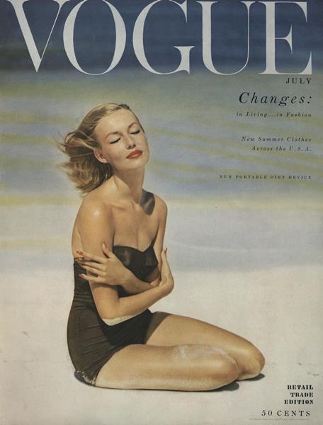 Issue: - July 1953   Vogue